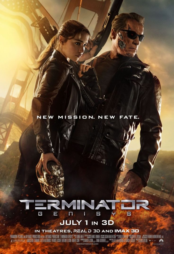 Terminator Genisys (2015) John Connor sends Kyle Reese back in time to protect Sarah Connor, but when he arrives in 1984, nothing is as he expected it to be.