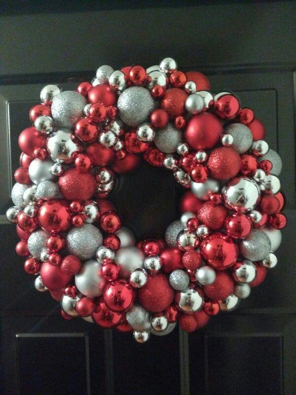Corona de Navidad!