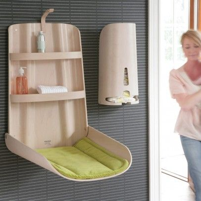 great for small spaces or as an extra changing station downstairs