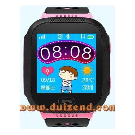 Gps horloge Roze Touchscreen Gps + configuratie + incl Lebara Simkaart + incl verzendkosten !