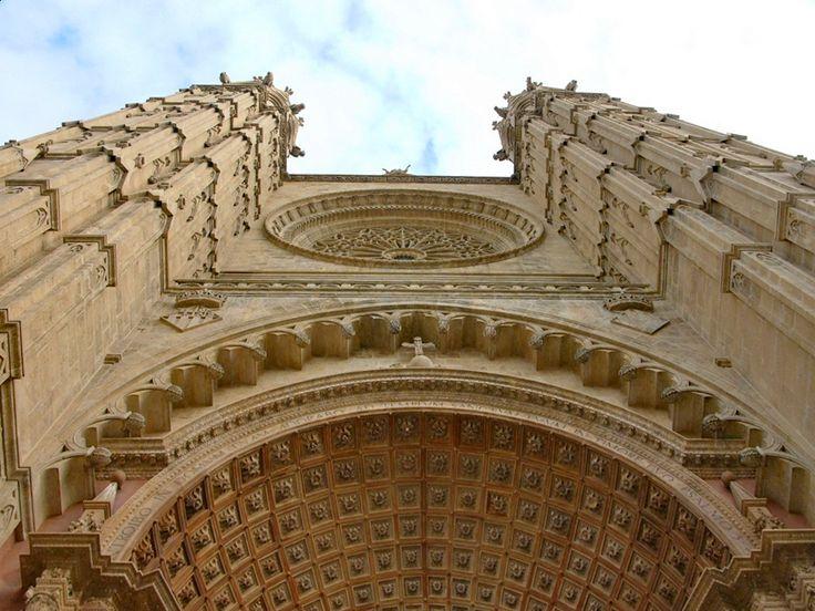 Eingangsportal Kathedrale Palma de Mallorca
