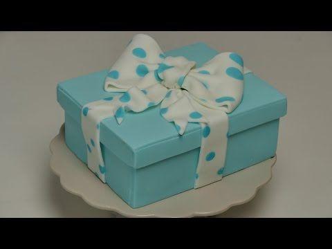 Geschenkbox-Torte   Gift Box Cake   Fondant-Torte von Nicoles Zuckerwerk