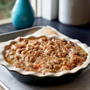 Apricot And Blueberry Crumble Recipe — Dishmaps