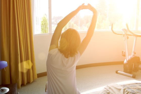 ¿Te vas a la #cama? Échale un vistazo a estos #ejercicios, te ayudarán a #dormir mejor y a levantarte como nuev@ :)