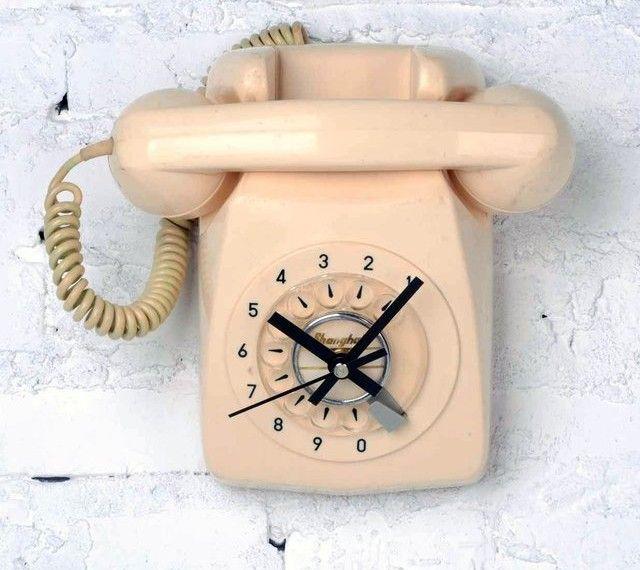 ダイヤル電話をアップサイクルしたオシャレな置き時計「Telephone Clock」 | Q ration(キューレーション) | QUAEL bags | クアエル