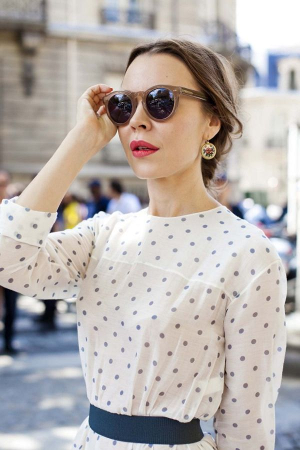 polka dot perfection: Vintage Chic, Polka Dots, Design Shoes, Fashion Street Style, Fashion Design, Ulyanasergeenko, Haute Couture, French Style, Ulyana Sergeenko