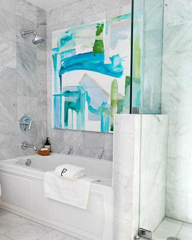 colorful miami apartment by celebrities designer robert passal - Bathroom Accessories Miami