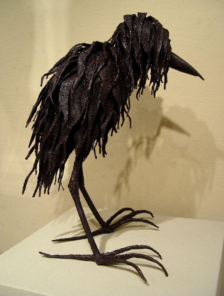Art by: Nina Scott-Hansen #westcoweld #ukwelding #welding #art #metalart #weldsculpture #bird