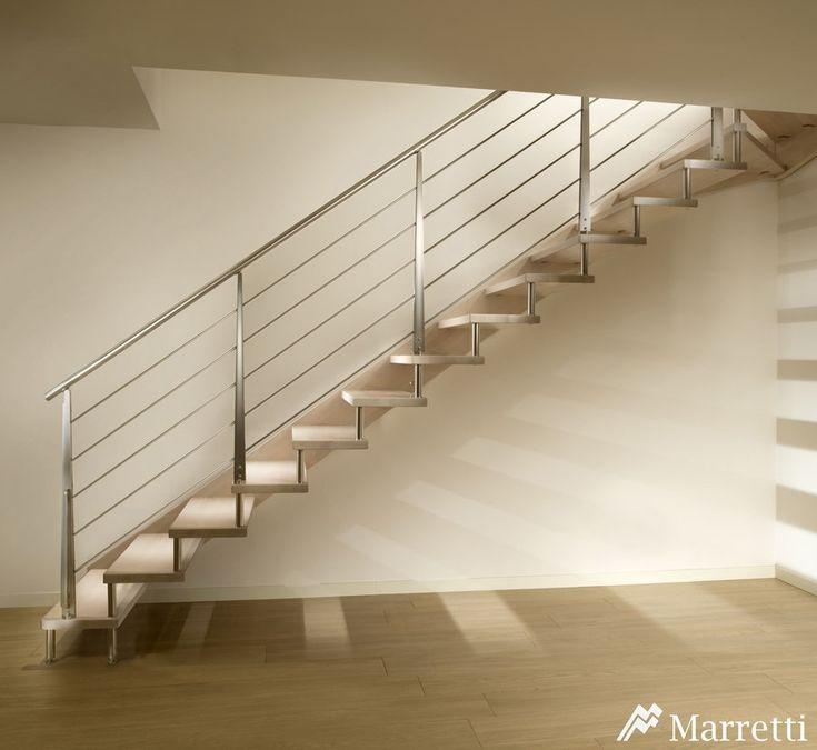 Escaleras de interior flo la nueva colecci n asequible de - Escaleras de madera interior ...