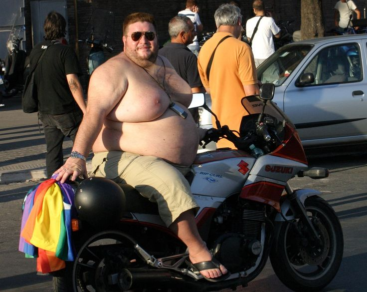 Fat Guys On Motorcycles 13