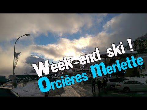 Week end Ski @ Orcières - Janv 2015 [HD] - YouTube