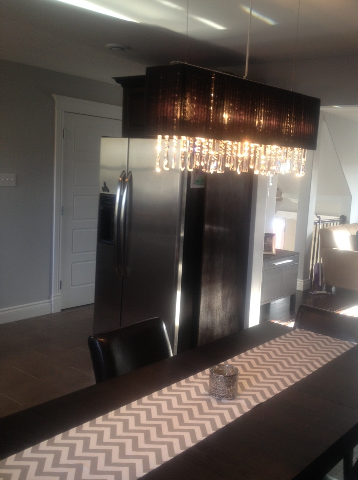 Gorgeous dining room light fixture- LOVE this!!! I want it!