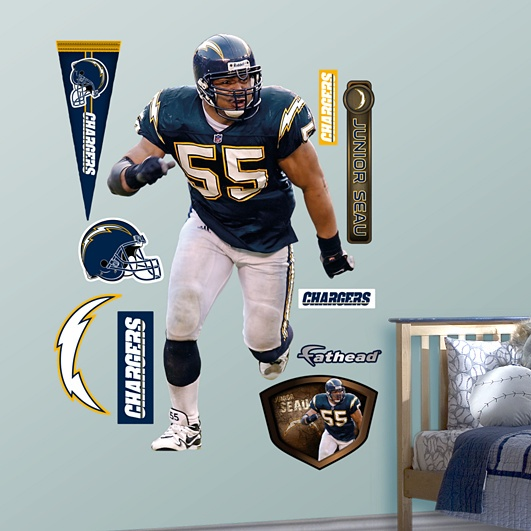 Junior Seau, San Diego Chargers.. One of the Best!!!