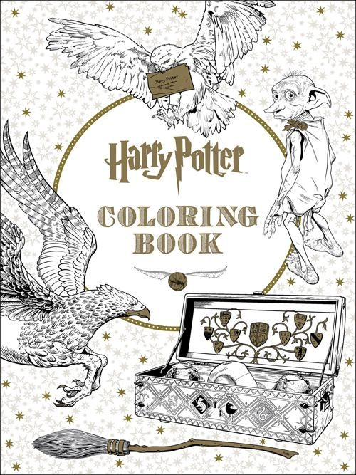The Official Harry Potter Coloring Book #1 - $15.99