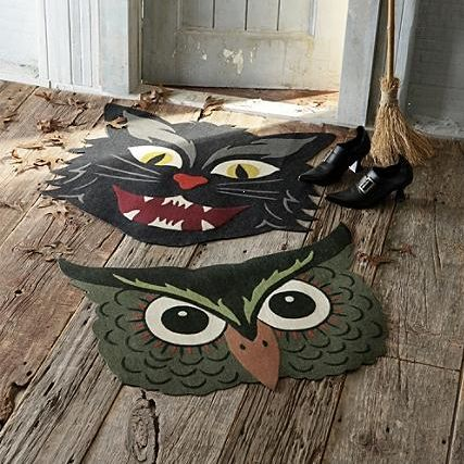 martha stewarts halloween doormat - Halloween Decorations Martha Stewart