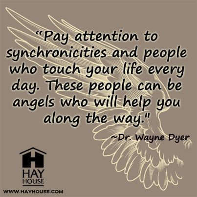 From Dr. Wayne Dyer's Hay House Radio show. http://www.ashifthappens.com
