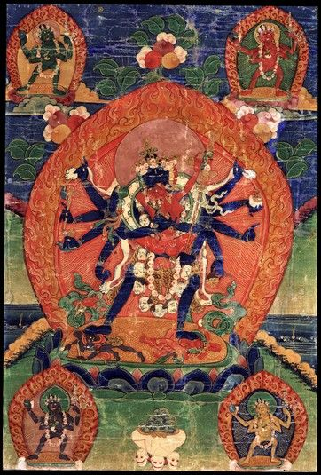 Chakrasamvara (divinité bouddhiste) (HimalayanArt)