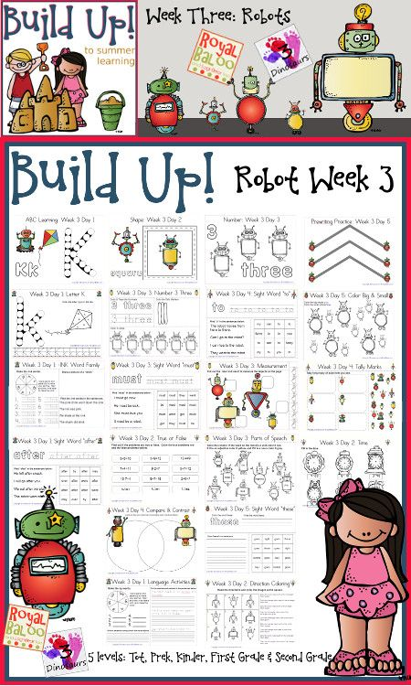 Free Build Up Summer Learning Robots Printables from 3 Dinosaurs and Royal Baloo http://3dinosaurs.com/wordpress/index.php/build-up-summer-learning-week-3-robot/ and http://royalbaloo.com/build-up-to-summer-learning-week-3-robots/