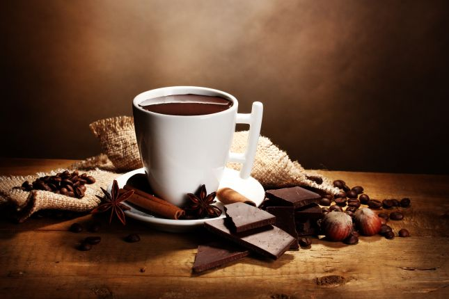 Hot chocolate >>> visit the website for more delicious chocolate uses