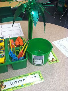 Tables are organized by groups. When a group is behaving well, doing what they are supposed to do, or doing showing good teamwork, place a marble in their bucket. When the bucket has 15 marbles, the table gets a prize. It promotes working as a team, expectations, and responsibility. #warm #positivity #ownership (learningadventureswithmrsgerlach.blogspot.com)