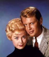 Sandra Dee and Troy Donahue