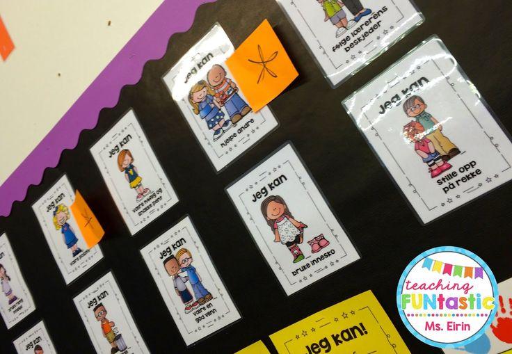 """""""Jeg kan!"""" er et system jeg har laget med hensikt på å øke elevenes motivasjon og skape et bedre klassemiljø. Som de fleste andre har jeg alltid jobbet med klasseregler og brukt forskjellige metoder for å få elevene til å overholde disse. Med og uten hell. Elever som i utgangspunktet er enkle å ha med å gjøre vil stort sett følge hvilken som helst regel."""