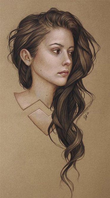 Comment dessiner les cheveux (sans se les arracher) ? / Le blog Apprendre à dessiner : le dessin pour tous