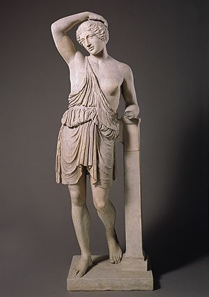 Statue of a wounded Amazon [Roman copy of a Greek bronze statue] (32.11.4) | Heilbrunn Timeline of Art History | The Metropolitan Museum of Art