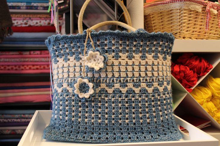 AH tas, crochet, I made this bag last week