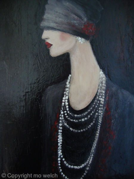 82 best images about mo welch on pinterest artworks for Art deco artists list