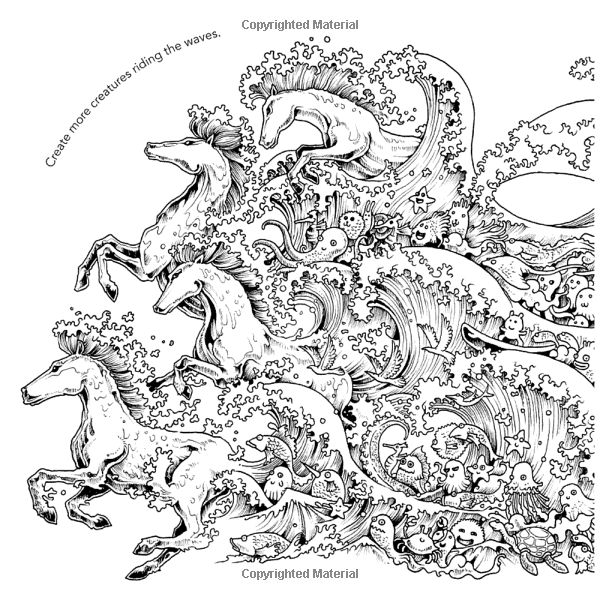 Animorphia An Extreme Coloring And Search Challenge Kerby Rosanes 9780147518361 Amazon