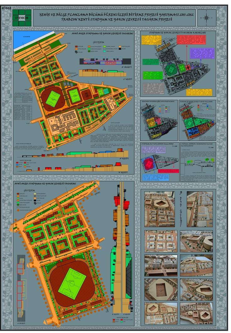 Şehir ve Bölge Planlama Bölümü Öğrencileri Bitirme Projesi Yarışması 2011- 2012 2 Nolu Pafta [nadişin istediği renk]