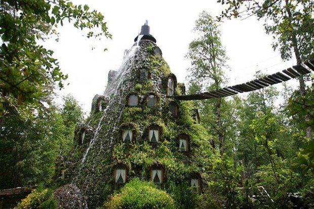 The Magic Mountain Hotel Huilo Huilo, Chile: Huilo Huilo, Chile, Favorite Places, Magic Mountain, Mountain Magic, Travel, Lodges, Hotels
