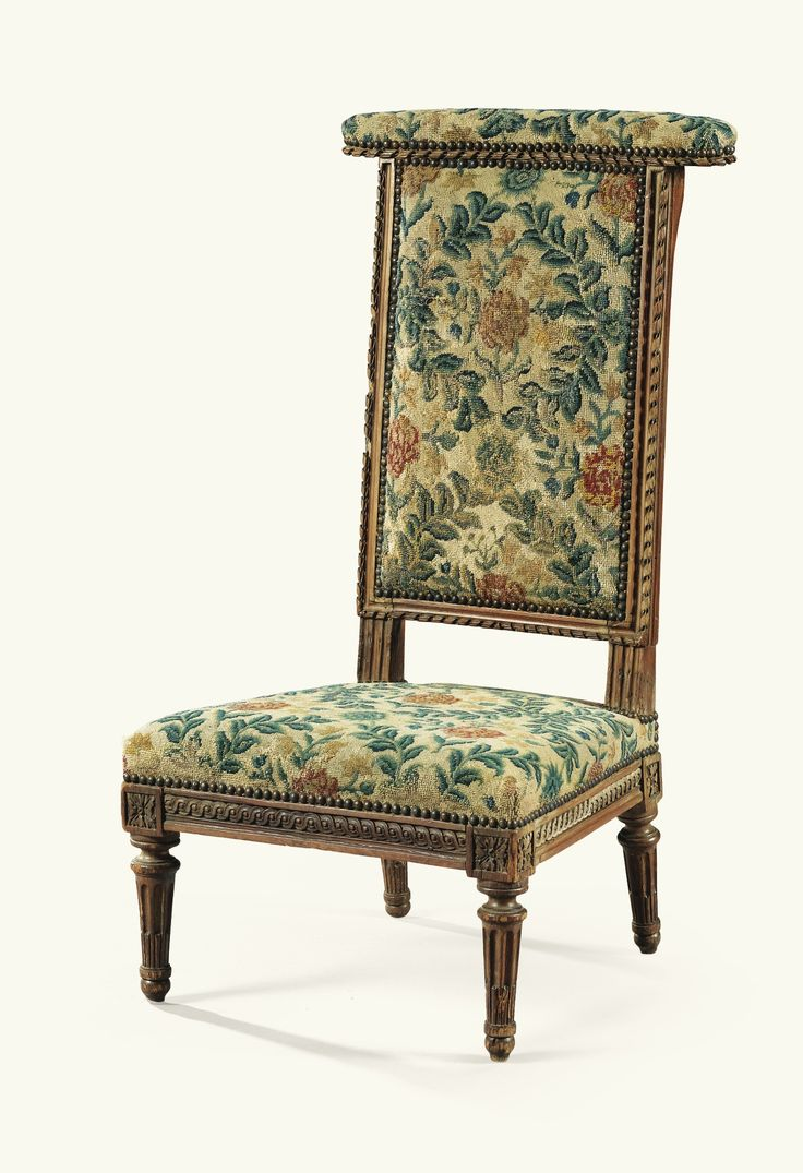 A CARVED WOOD VOYEUSE CHAIR STAMPED I.B. SENE, LOUIS XVI · French  FurnitureFine ...