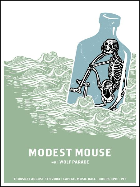 GigPosters.com - Modest Mouse - Wolf Parade