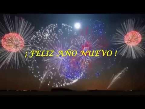 Mensaje de FELIZ AÑO NUEVO ✯✯ 2017 ✯✯ Saludos de AÑO NUEVO ✯ Con Música ✯⋆╰☆╮♫ ♪ 2017 - YouTube