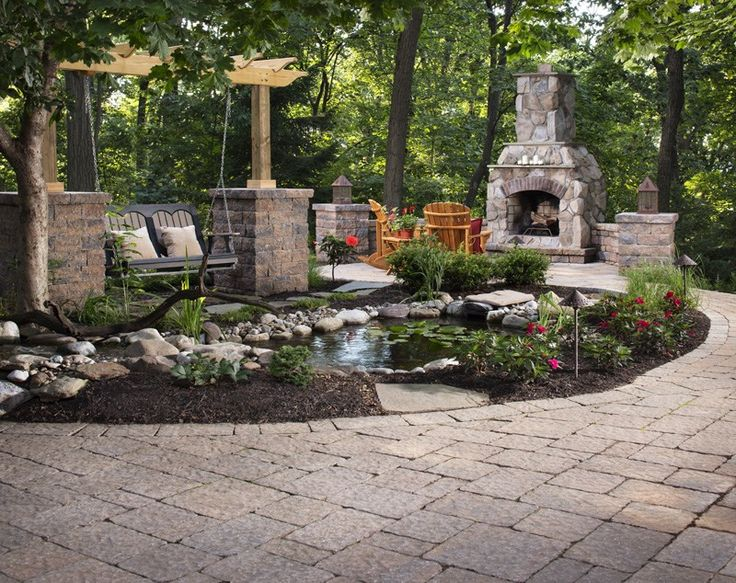 Image of: Drainage Ditch Landscaping Ideas Palace