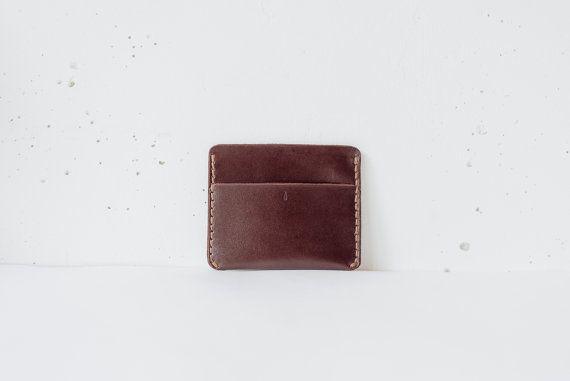 Leather card holder wallet, Minimalist wallet leather, Slim wallet leather credit card holder, Mens gift wallet, Personalized wallet