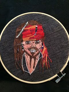 Idol embroidery