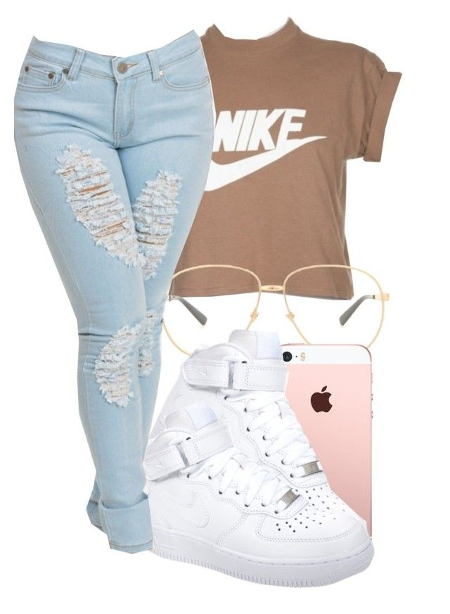 """#schoolfit"" by eazybreezy305 ❤ liked on Polyvore featuring NIKE, Gucci, schoolflow, schoolstyle and bts"