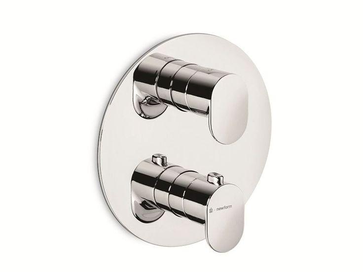 #LINFA Miscelatore termostatico per doccia by #NEWFORM #bath #design