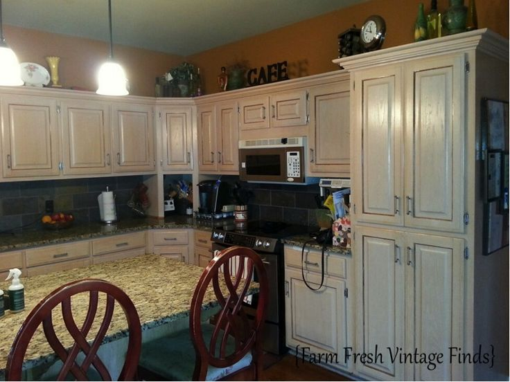 Painted Oak Kitchen Cabinets In Reclaim Licorice Black