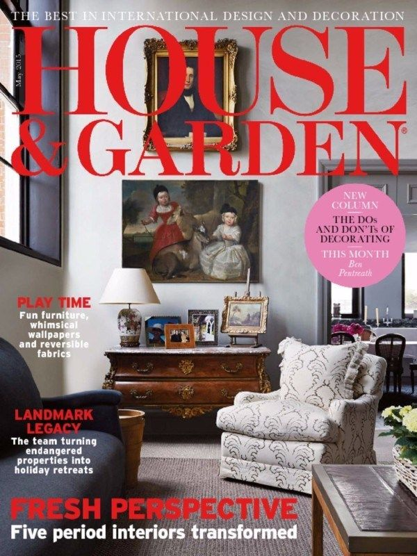 You Can Now Take A Look On May 2015 Edition Of House And Garden Magazine