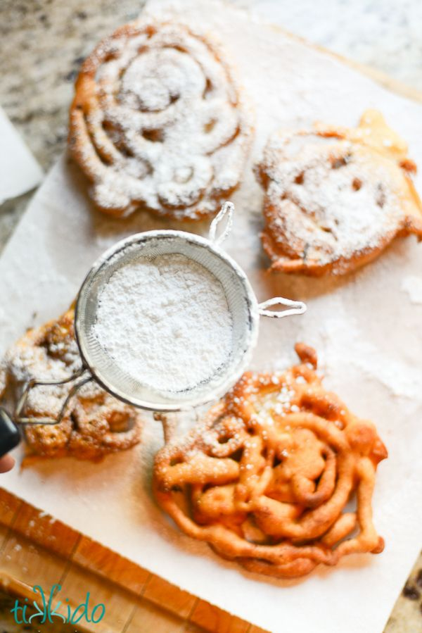 How to Make Mini Funnel Cakes