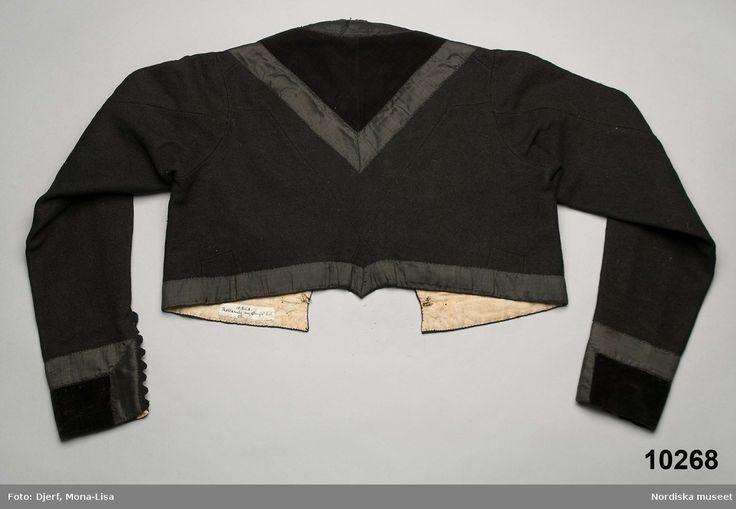 Nordiska museet - Onsjö dam tröja ca 1845-1870