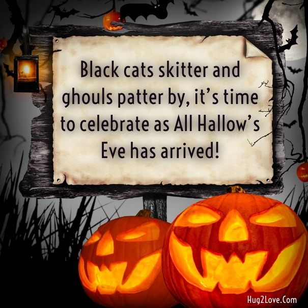 50 Best Happy Halloween Quotes Wishes Greetings And Sayings With Pictures: 13 Best Happy Halloween Greetings For Friends, Adults