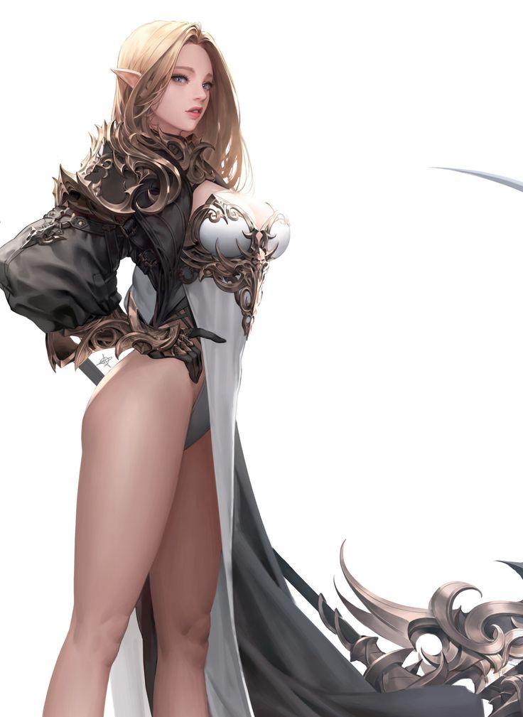 Elf2, Daeho Cha on ArtStation at https://www.artstation.com/artwork/LJD45