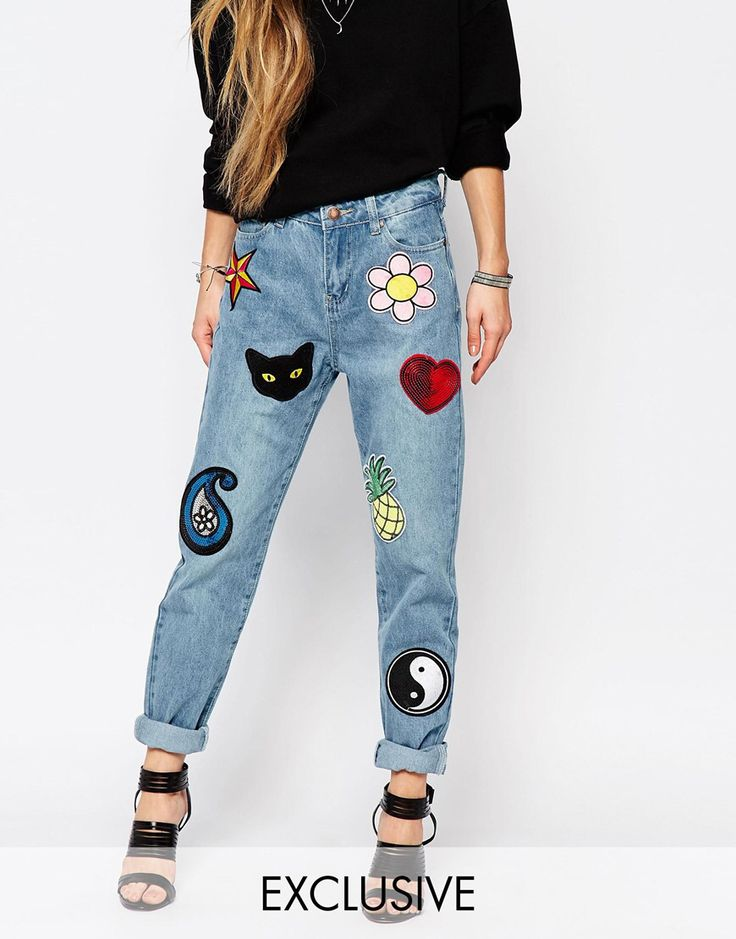Get a good denim jean and patch the shit outta em                                                                                                                                                     More