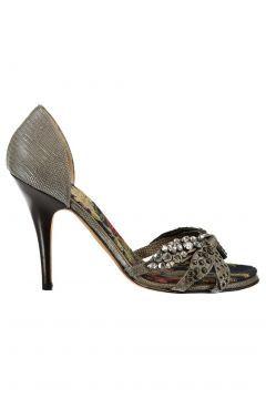 Vicini Kadın Gri Topuklu Ayakkabı