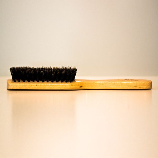 Boar brush for the beard